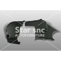 Timing chain cover suitable for Fiat Punto – EAN 46810267 sup - 73500818 inf